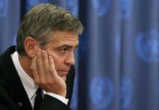 <p>George Clooney in una foto d'archivio. REUTERS/Lucas Jackson (UNITED STATES)</p>