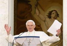 <p>Papa Benedetto XVI. REUTERS/Alessandro Bianchi</p>