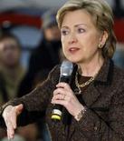 <p>A senadora Hillary Clinton em reunião local em Missoula, Montana, 6 de abril. Photo by Anne Medley</p>