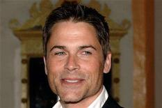 <p>U.S. actor Rob Lowe arrives at the 21st Santa Barbara International Film Festival at the Arlington Theatre in Santa Barbara, California, February 12, 2006. REUTERS/Phil Klein</p>