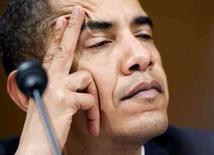 <p>O pré-candidato democrata à Presidência dos Estados Unidos, Barack Obama, que pediu ao atual presidente, George W. Bush, que boicote a cerimônia de abertura dos Jogos Olímpicos de Pequim, que ocorrem em agosto. A China é acusada pela comunidade internacional de ser negligente em relação à matança em Darfur, no Sudão, e de não garantir os direitos humanos aos tibetanos. Photo by Joshua Roberts</p>