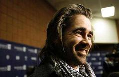 "<p>Colin Farrell smiles at the premiere of ""In Bruges"" at the Eccles theatre on the opening day of the 2008 Sundance Film Festival in Park City, Utah January 17, 2008. REUTERS/Mario Anzuoni</p>"