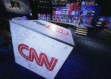 "<p>The CNN logo in an undated photo. CNN said it did not mean to cause offence when one of its commentators said the Chinese were ""goons"" and that their products were ""junk"". REUTERS/CNN/Handout</p>"