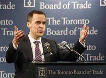 <p>Mark Carney, Governor of the Bank of Canada, speaks before the Toronto Board of Trade March 13, 2008. REUTERS/Mark Blinch</p>