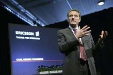 <p>Carl-Henric Svanberg, chief executive di Ericsson. REUTERS/Fredrik Persson/Scanpix</p>
