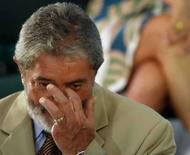 <p>Lula acha 8 anos pouco para governante mas faz votos a sucessor. Sem mencionar o debate sobre o terceiro mandato, o presidente Luiz Inácio Lula da Silva disse nessa segunda-feira que oito anos é pouco tempo para um governante. 28 de abril. Photo by Jamil Bittar</p>