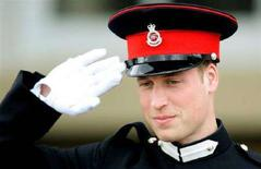 <p>Immagine d'archivio del principe britannico William. REUTERS/Dylan Martinez</p>