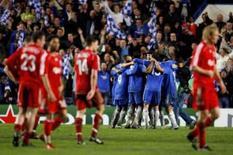 <p>Chelsea chega à final da Liga dos Campeões pela primeira vez. O Chelsea enfrentará o Manchester United na final da Liga dos Campeões após derrotar o Liverpool por 3 x 2, com dois gols na prorrogação. 30 de abril. Photo by Eddie Keogh</p>