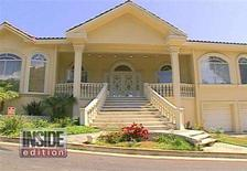"""<p>The Encino, California home of former U.S. baseball star Jose Canseco is shown in this undated publicity photograph from the syndicated television program """"Inside Edition"""" May 1, 2008. REUTERS/Courtesy Inside Edition/Handout</p>"""