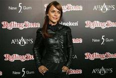 <p>Actress Taryn Manning poses at the Rolling Stone Magazine's Hot party in Hollywood, California October 4, 2007. REUTERS/Mario Anzuoni</p>