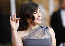 "<p>Actress America Ferrera from ""Ugly Betty"" arrives at the 14th annual Screen Actors Guild Awards in Los Angeles January 27, 2008. REUTERS/Mario Anzuoni</p>"