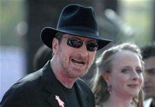 <p>Writer Frank Miller attends the 2007 MTV Movie Awards in Los Angeles, California June 3, 2007. REUTERS/Phil McCarten</p>