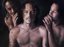 <p>Retrato de Heath Ledger vence prêmio de arte australiano. Um retrato do ator Heath Ledger com semblante pensativo, pintado logo antes de sua morte, em janeiro, foi escolhido na quinta-feira como o mais popular no maior prêmio de arte da Austrália. 8 de maio. Photo by Reuters (Handout)</p>