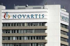 <p>La sede della società farmaceutica Novartis a Basilea. REUTERS/Christian Hartmann (SWITZERLAND)</p>