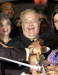 <p>Boy band mogul Lou Pearlman in a 2004 file photo. Pearlman, who launched Backstreet Boys and 'N Sync, was sentenced to 25 years in prison on Wednesday for swindling investors and major U.S. banks out of more than $300 million. REUTERS/Jason Arnold</p>
