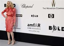 <p>Singer Madonna arrives at amfAR's Cinema Against AIDS 2008 event in Mougins during the 61th Cannes Film Festival May 22, 2008. REUTERS/Jean-Paul Pelissier</p>
