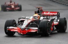<p>Hamilton vence corrida em Mônaco. Lewis Hamilton, da McLaren, venceu o Grande Prêmio de Mônaco neste domingo. 25 de maio. Photo by Jacky Naegelen</p>