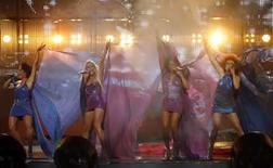 """<p>Los alemanes temían el domingo no ser queridos en Europa luego de que su banda más popular en la última década obtuviera cero puntos de parte de 40 de los 42 países participantes en el Festival de la Canción Eurovisión 2008, lo que los ubicó en el último lugar. El grupo alemán """"No Angels"""" durante su presentación en el Festival de la Canción de Eurovisión (25/05/08) Photo by Marko Djurica/Reuters</p>"""