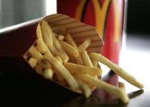 <p>Una porzione di patatine fritte di McDonald's. REUTERS/Sam Mircovich (UNITED STATES)</p>