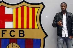 <p>Barcelona contrata meia Keita, ex-Sevilla. O Barcelona anunciou a contratação do meiocampista de Mali Seydou Keita, do Sevilla, pelos próximos quatro anos. 26 de maio. Photo by Gustau Nacarino</p>