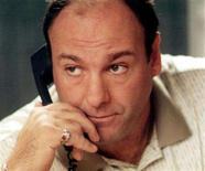 "<p>Actor James Gandolfini as Tony Soprano in the the hit television series ""The Sopranos"". The fate of the North Jersey mob boss may have been unclear when hit the series ended last year, but his wardrobe is headed for a certain ending: it's being auctioned for charity. REUTERS/File</p>"