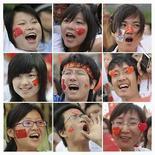 <p>Una serie de fotografías de personas durante el traslado de la antorcha olímpica de Pekín 2008, en Hefei, Mayo 28, 2008. Algunos embaucadores están creando sitios falsos de venta de entradas por internet, ofreciendo bonos olímpicos que no existen y realizando competencias fraudulentas relacionadas con los Juegos, informó el jueves la prensa estatal china La agencia estatal de noticias Xinhua, que aconsejó al público tener cuidado con los timadores, reportó que existen ocho fraudes relacionados con las Olimpiadas. Photo by Jianan Yu/Reuters</p>