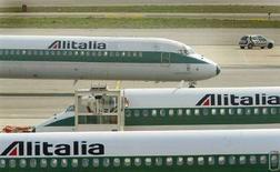 <p>Aerei Alitalia. REUTERS/Stefano Rellandini DJM/JV</p>