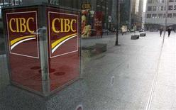 <p>A Canadian Imperial Bank of Commerce (CIBC) branch is seen in Toronto November 9, 2007.REUTERS/Mark Blinch</p>