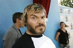 <p>Actor Jack Black arrives at the 2008 MTV Movie Awards in Los Angeles June 1, 2008. REUTERS/Mario Anzuoni</p>