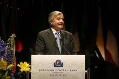 <p>Il presidente della Bce Jean-Claude Trichet. REUTERS/Ina Fassbender</p>