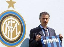 <p>Il nuovo allenatore dell'Inter Jose Mourinho. REUTERS/Stefano Rellandini (ITALY)</p>