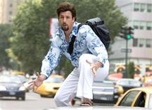 "<p>Adam Sandler in a scene from ""You Don't Mess With the Zohan"". REUTERS/Columbia Pictures/Handout</p>"