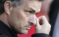 <p>Mourinho deseja curar feridas do futebol italiano. José Mourinho em imagem de arquivo. O técnico português disse que ajudar o Campeonato Italiano a enterrar seu problemático passado será parte de sua missão como técnico da Inter de Milão. 1 de maio de 2007. Photo by Phil Noble</p>