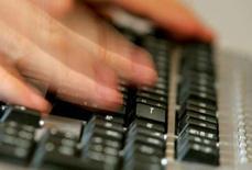"""<p>Skyrock mène des discussions pour trouver un """"partenaire industriel"""" pour sa plate-forme de blogs, ce qui pourrait aboutir à une vente. /Photo d'archives/REUTERS</p>"""