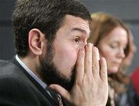 <p>Maher Arar listens to a question during a news conference in Ottawa January 26, 2007. REUTERS/Chris Wattie</p>