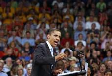 <p>Obama quer conquistar Estados de maioria republicana . Photo by Jason Reed</p>