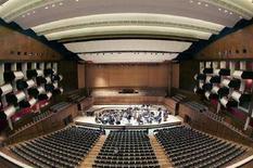 <p>Il Royal Festival Hall di Londra (foto d'archivio). REUTERS/Tony Melville</p>