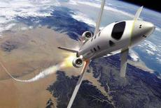<p>Immagine elaborata al computer della navicella Eads Atrium, che dal 2012 permetterà ai turisti spaziali di volare a 100 km dall'atmosfera terrestre. REUTERS/EADS Atrium/Marc Newson Ltd/Nasa (Francia).</p>