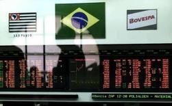 <p>Imagem de arquivo da Bovespa, em São Paulo. Photo by Paulo Whitaker</p>