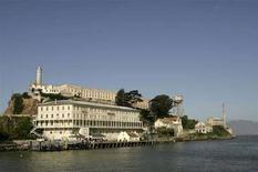 <p>L'isola di Alcatraz nella baia di San Francisco. REUTERS/Robert Galbraith</p>