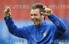 <p>Antonio Cassano REUTERS/Tony Gentile</p>