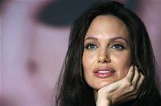 "<p>Cast member Angelina Jolie attends a news conference for the film ""The Exchange"" by U.S. director Clint Eastwood at the 61st Cannes Film Festival May 20, 2008. REUTERS/Jean-Paul Pelissier</p>"