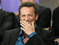 "<p>Matthew Perry smiles at the panel for the NBC television series ""Studio 60 on the Sunset Strip"" at the Television Critics Association summer 2006 media tour in Pasadena, California July 21, 2006. The series premieres fall of 2006. REUTERS/Mario Anzuoni</p>"