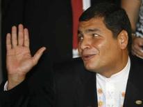 <p>O presidente do Equador, Rafael Correa, em foto de arquivo   REUTERS. Photo by Stringer</p>