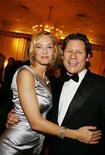 <p>Actress Uma Thurman and Arpad Busson pose in this file photo before the Nobel Banquet at the Grand Hotel in Oslo December 10, 2007. REUTERS/Sara Johannessen/Scanpix</p>