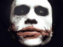 "<p>Heath Ledger is shown in an undated publicity photo as The Joker in Warner Bros. Pictures' and Legendary Pictures' action drama ""The Dark Knight."" REUTERS/Warner Bros./Handout.</p>"