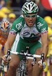 <p>Il ciclista norvegese del team Credit Agricole, Thor Hushovd. REUTERS/Jean-Paul Pelissier (FRANCE)</p>