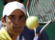 <p>Para número 1 do tênis brasileiro, basta 1 vitória em Pequim. O tenista Thomaz Bellucci em imagem de arquivo. Uma única vitória em Pequim. Esse seria um resultado considerado bom pelo principal tenista do Brasil na atualidade, que aos 20 anos disputará pela primeira vez os Jogos Olímpicos. 11 de abril de 2008. Photo by Paulo Whitaker</p>
