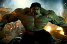 "<p>The Hulk in a scene from ""The Incredible Hulk"". REUTERS/Universal Pictures/Handout</p>"