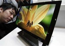 <p>Una tv con schermo Oled di Sony. REUTERS/Yuriko Nakao (JAPAN)</p>